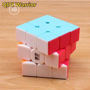 Qiyi Rubik Cube Stickerless Professional 3x3x3 Toy | Toys for sale in Lagos State, Ikeja