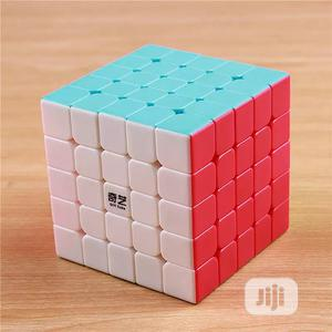 Qiyi 2020 Model Professional Rubiks Cube 5x5x5 Stickerless   Toys for sale in Lagos State, Ikeja