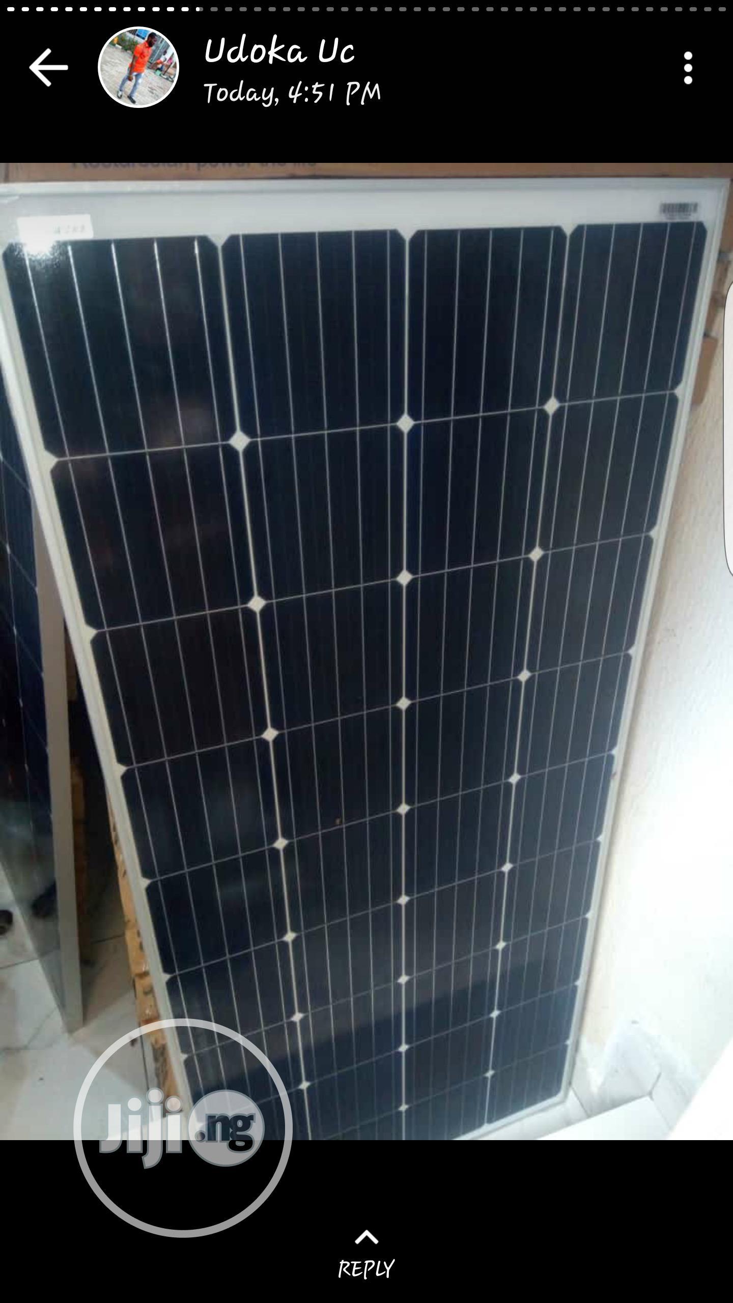 150watts Mono Solar Panels