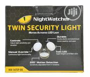 Nightwatcher Twin Security Motion Activity LED Light NW-16TSP-BK | Security & Surveillance for sale in Lagos State, Ikoyi