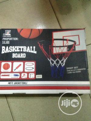 Basket Ball Board With Accessories | Toys for sale in Lagos State, Ikorodu