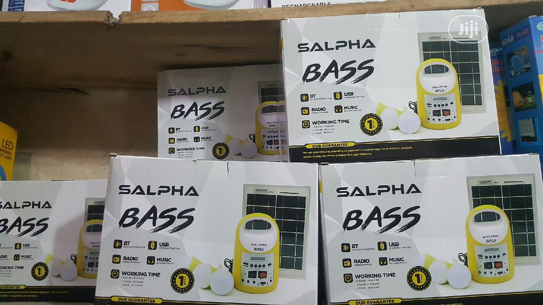 Salpha Bass Solar Kit (Bulk Only)