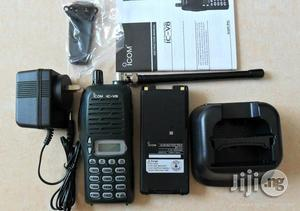 Icom V8 2-way Radio Walkie Talkie (Japan)   Audio & Music Equipment for sale in Lagos State, Apapa