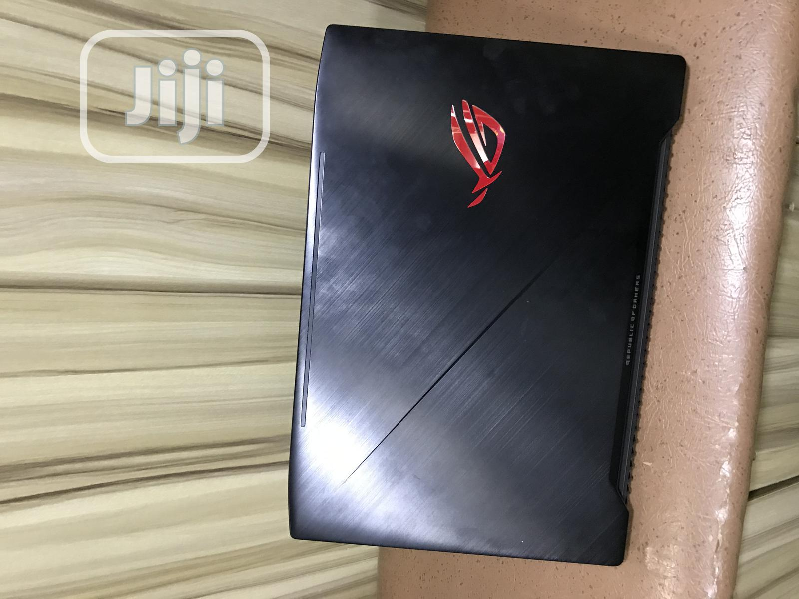 Laptop Asus ROG Strix GL503 16GB Intel Core i7 SSHD (Hybrid) 1T | Laptops & Computers for sale in Wuse, Abuja (FCT) State, Nigeria