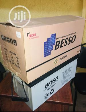 200ah 12volts Besso Battery Available | Electrical Equipment for sale in Lagos State, Maryland