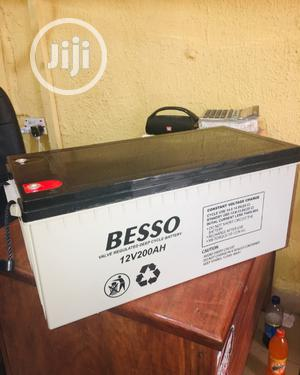 Besso Battery 200ah Battery Available With Warranty | Electrical Equipment for sale in Lagos State, Maryland