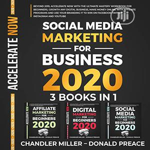 Social Media Marketing For Business 2020 By Miller & Preace(Audiobook) | Books & Games for sale in Lagos State, Lekki
