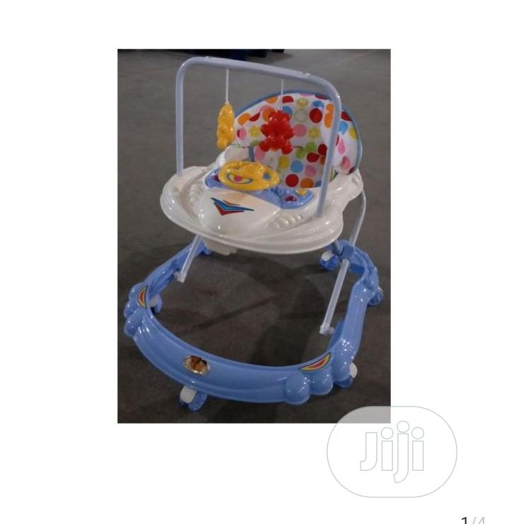Movable Fordable Baby Walker With - Music Hanging Toys