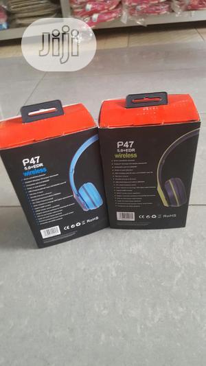 P47 Wireless Headphone   Headphones for sale in Lagos State