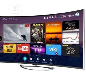 Polystar 43inches Curved 4k Smart Tv   TV & DVD Equipment for sale in Lagos State, Ikeja