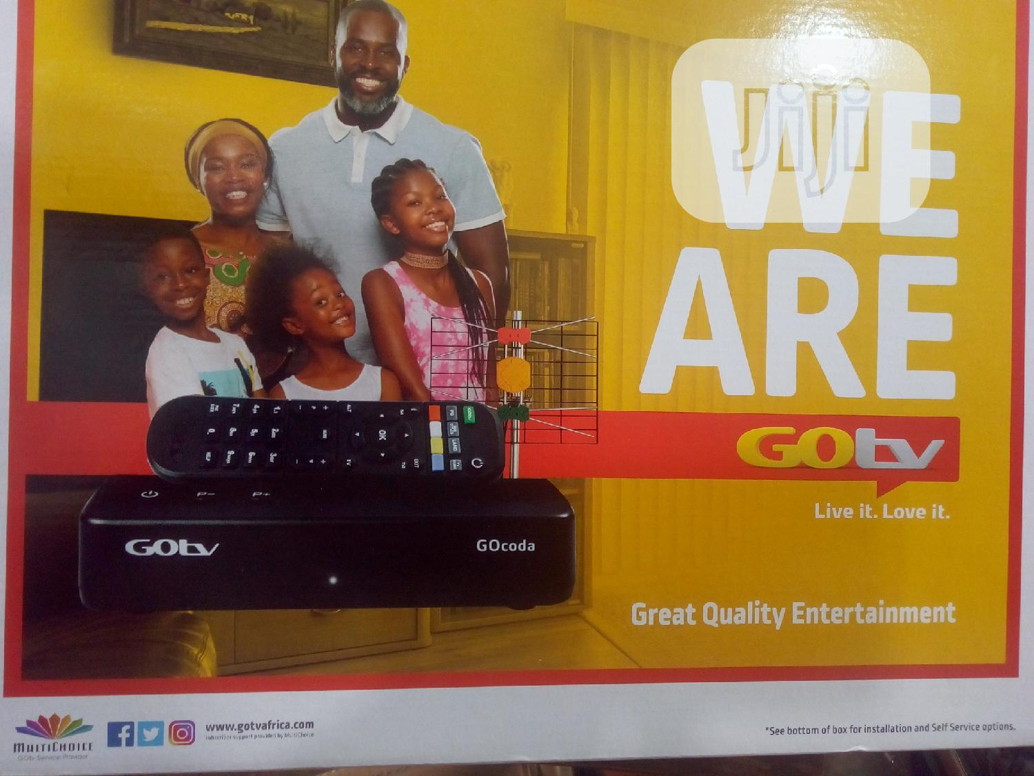 Gotv Decoder + Antenna + Subscription | Accessories & Supplies for Electronics for sale in Port-Harcourt, Rivers State, Nigeria