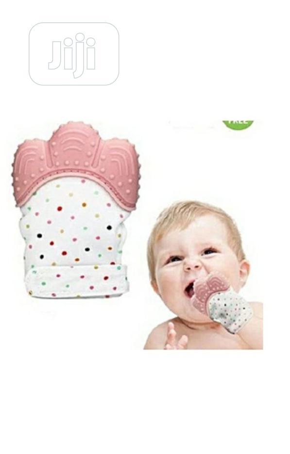 2pcs Of Baby Glove Teething Mitten