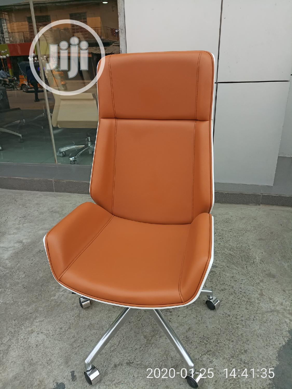 Picture of: Executive Swivel Leather Office Chair In Ikoyi Furniture Austin Onojame Jiji Ng For Sale In Ikoyi Buy Furniture From Austin Onojame On Jiji Ng