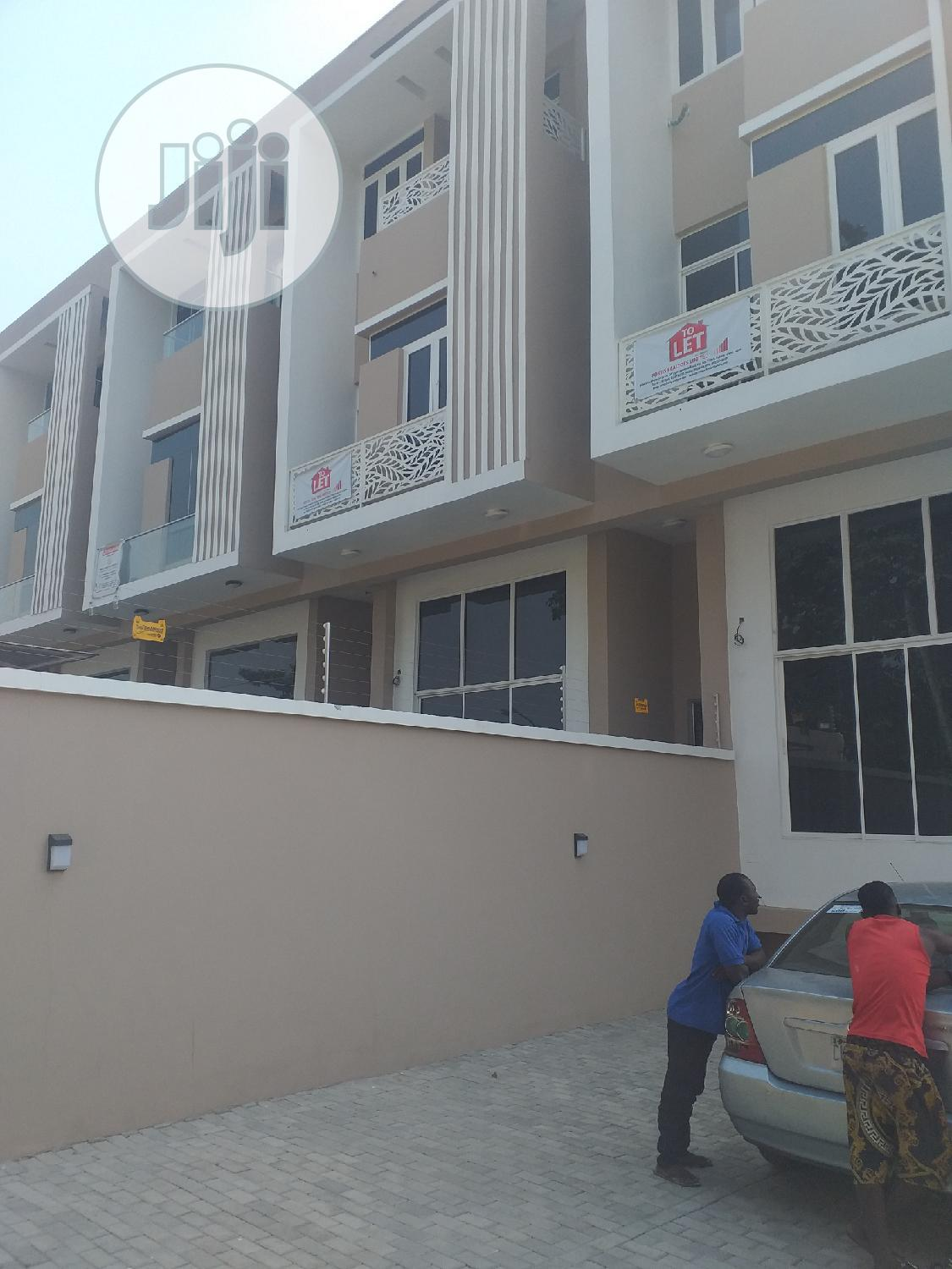 Brand New Tastefully Well Finished 5 Bedrooms Terrace Duplex With 2 Bq