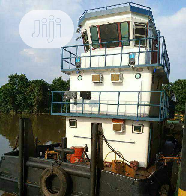 1000 Hp Tugboat Available For Sale