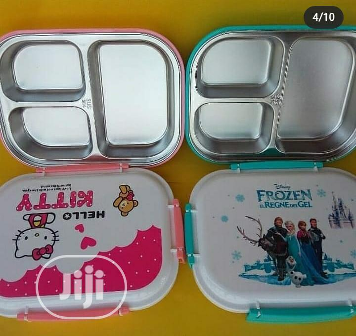 Durable Stainless Steel Lunch Box Bento Picnic Food Container