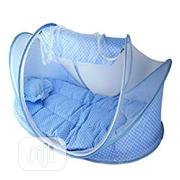Happy Baby Mobile Baby Cot Bed And Mattress With Pop Up Mosquito Net | Children's Furniture for sale in Lagos State, Lagos Island