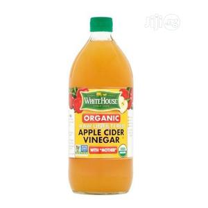 White House Organic Raw/Unfiltered Apple Cider Vinegar (473ml) | Meals & Drinks for sale in Lagos State, Ikeja