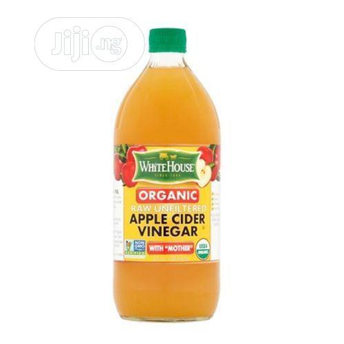White House Organic Raw/Unfiltered Apple Cider Vinegar (473ml)