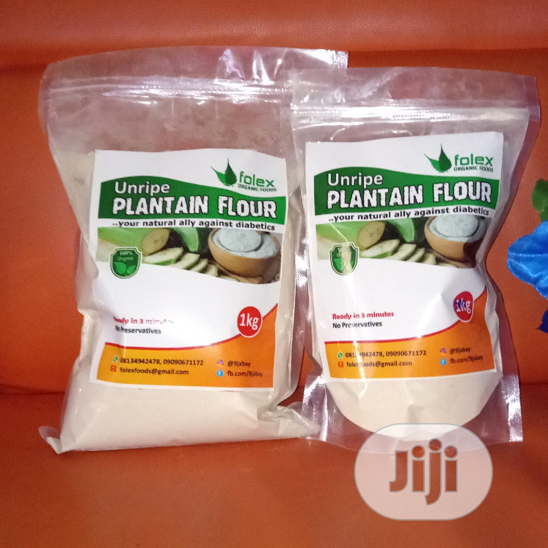 Unripe Plantain Flour