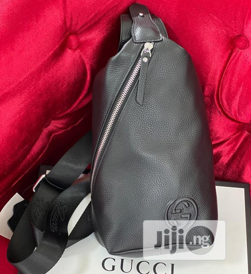 Best Quality Gucci Designer Leather Cross Pouch Bags   Bags for sale in Magodo, Lagos State, Nigeria