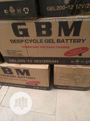 200ah/12v GBM Gel Battery   Solar Energy for sale in Lagos State, Ojo