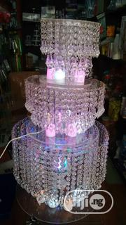Wedding Cake Stand Three Tiers Crystal Cangalia With Led   Home Accessories for sale in Lagos State, Ikeja