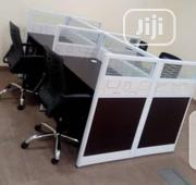 Brand New Quality Workstation Table It Is Very Strong Four Seaters   Furniture for sale in Lagos State, Ikoyi