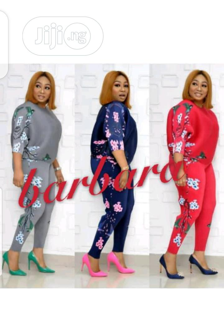 Ladies Pattern Sport Suit | Clothing for sale in Ikeja, Lagos State, Nigeria