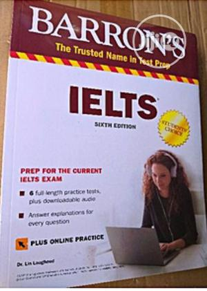Barrons Ielts and Cd   Books & Games for sale in Lagos State, Mushin