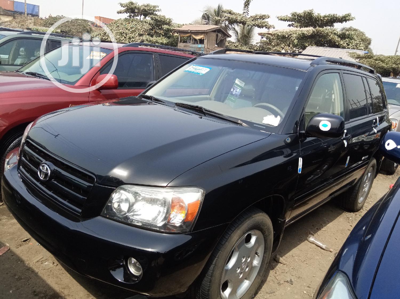 Toyota Highlander 2006 Limited V6 Black