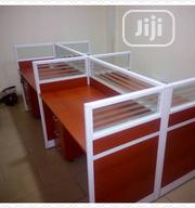 Brand New Quality Four Seaters Workstation Table It Is Very Strong   Furniture for sale in Lagos State, Victoria Island