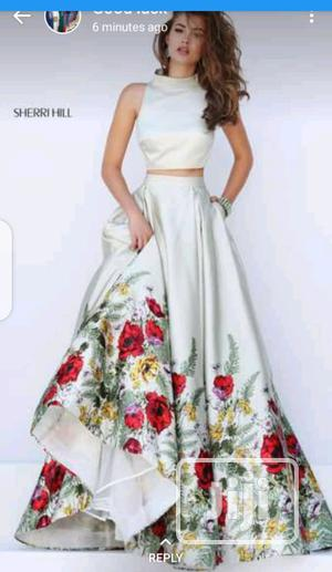 Female Sleeveless Crop Top and Flay Skirt | Clothing for sale in Lagos State, Ikeja