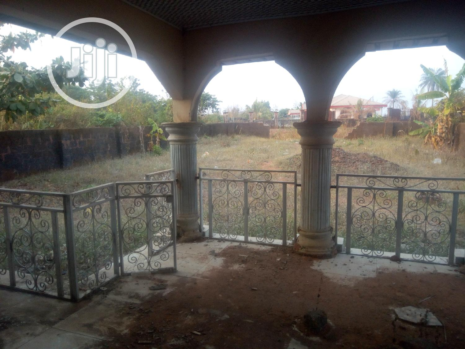 65 By 130 Land With 4bedroom Bungalow At Igbuzo, Delta   Land & Plots For Sale for sale in Oshimili South, Delta State, Nigeria