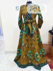 Maxi A-Line Ankara Dress Shirt   Clothing for sale in Abuja (FCT) State, Galadimawa
