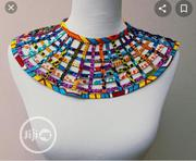 Ankara Made Necklace | Jewelry for sale in Lagos State, Lagos Island