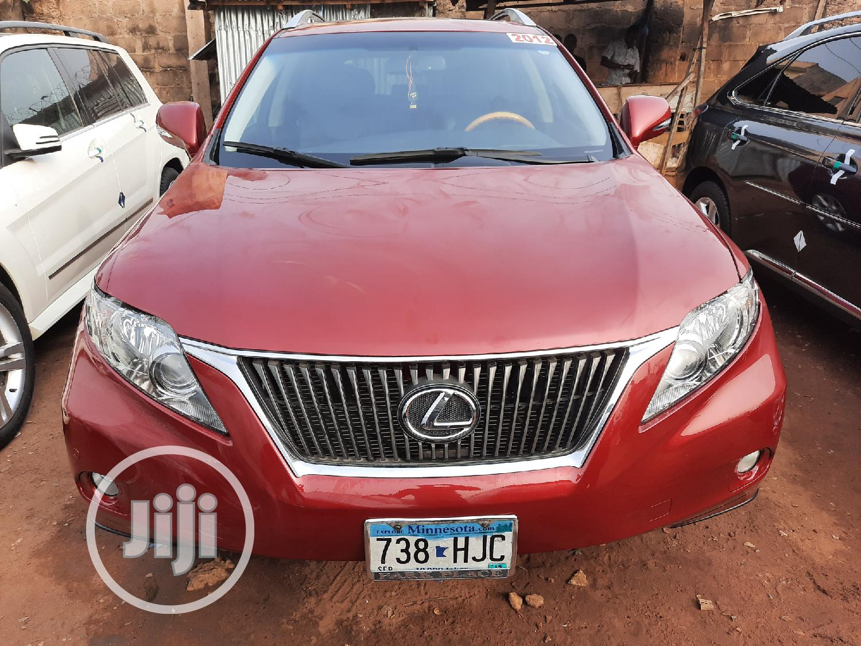 Lexus RX 2012 350 AWD Red   Cars for sale in Ikpoba-Okha, Edo State, Nigeria