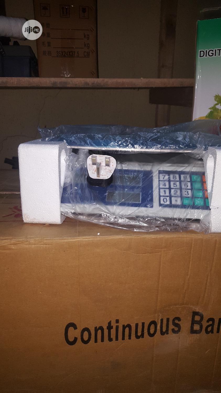 Digital Weighing Scale | Store Equipment for sale in Amuwo-Odofin, Lagos State, Nigeria