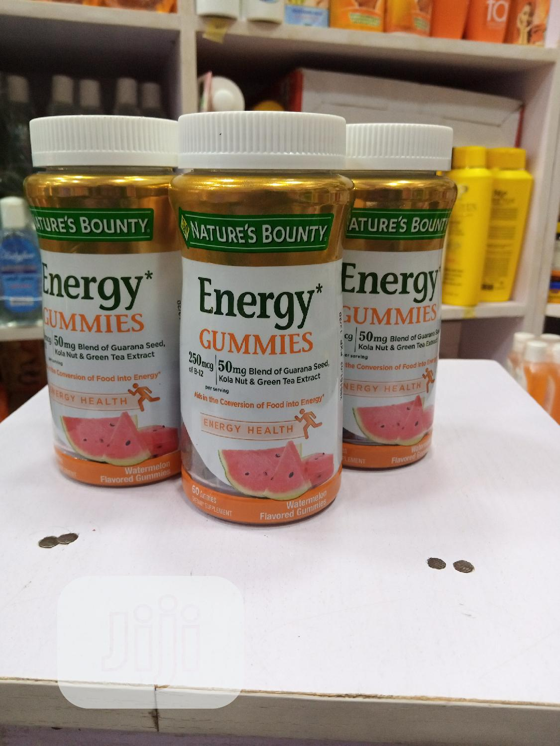 Nature Bounty Energy Gummies