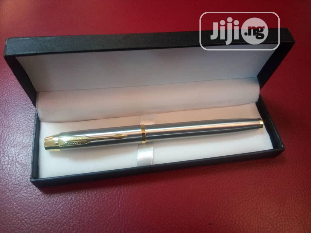 VIP Corporate Pen With Box, MOQ - 20pcs | Stationery for sale in Surulere, Lagos State, Nigeria