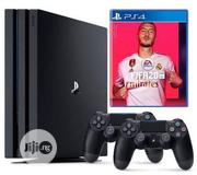 Sony Fifa 20 Playing Station 4 - Black With Extra Pad. | Video Game Consoles for sale in Lagos State, Ikeja