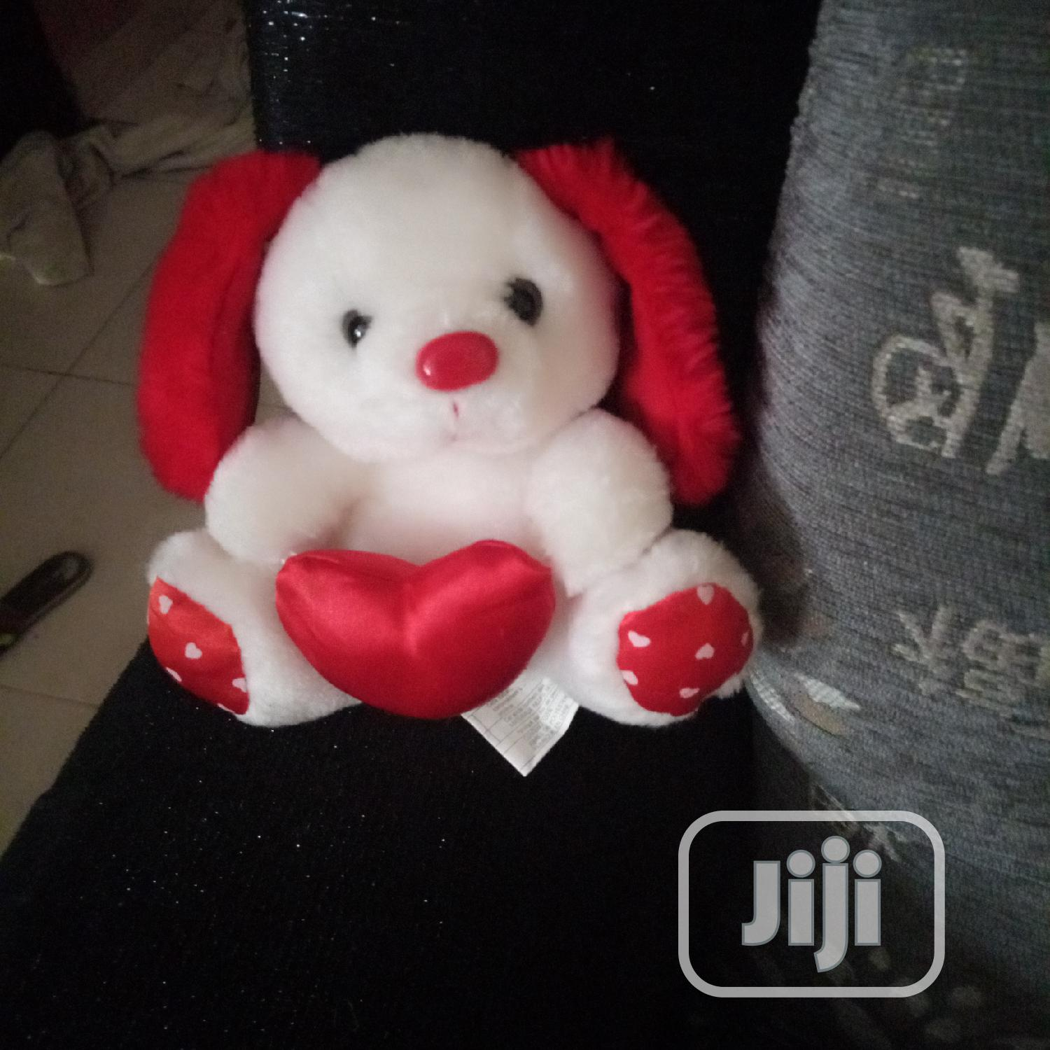 Archive: White Teddy Bear