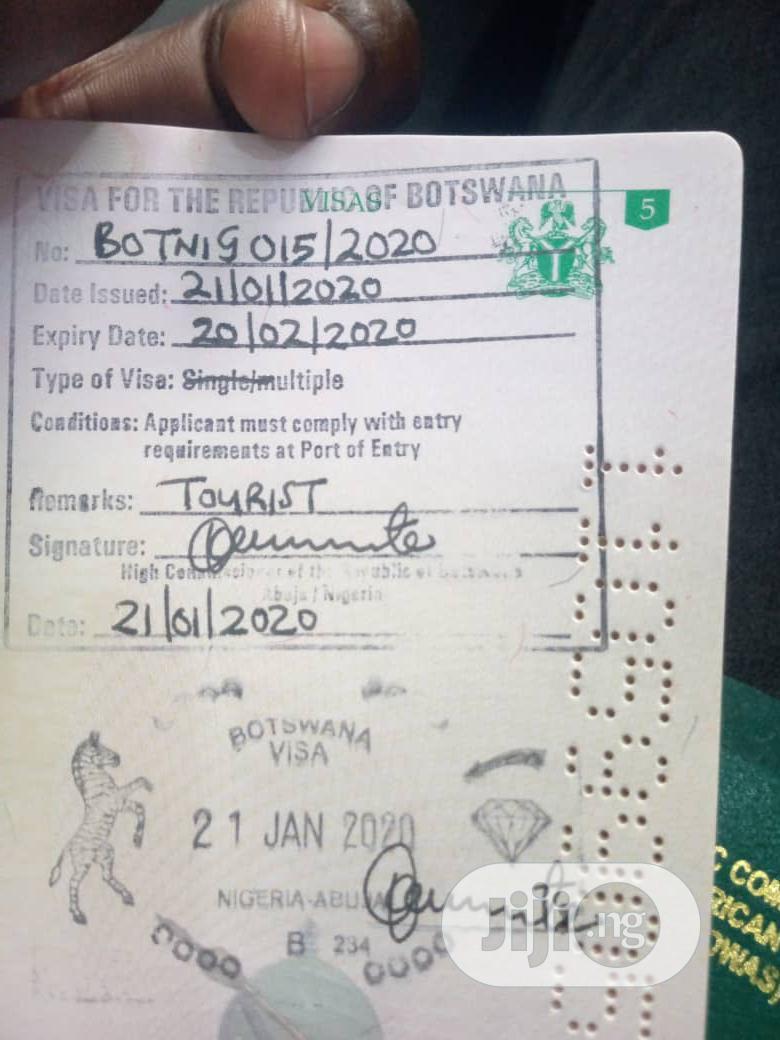 Archive No Deposit Botswana Visa In Ikorodu Travel Agents Tours Simmy Kay Herb Travel Ltd Jiji Ng For Sale In Ikorodu Simmy Kay Herb Travel Ltd On Jiji Ng