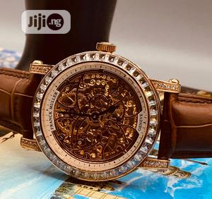 Franck Muller Ice Head Rose Gold Leather Strap Watch   Watches for sale in Lagos State, Lagos Island (Eko)