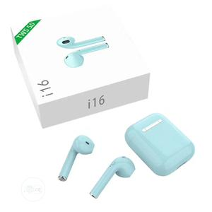 I16 Max Sports TWS Airpods Wireless Bluetooth 5.0 Earbud | Headphones for sale in Lagos State, Gbagada