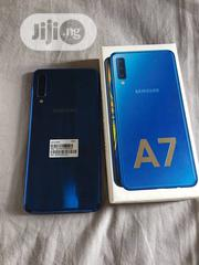 New Samsung Galaxy A7 32 GB Blue | Mobile Phones for sale in Lagos State, Ojo