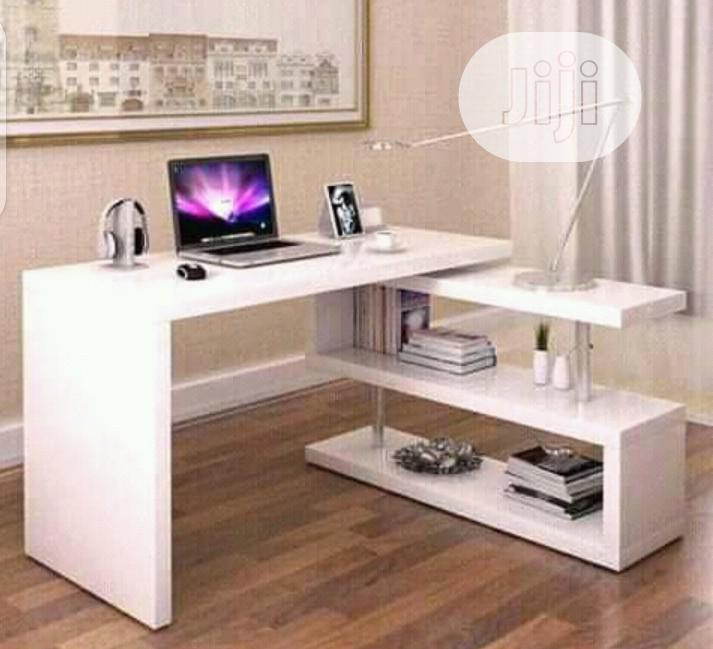 A Brand New White Office Table