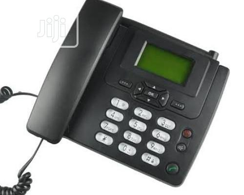 Huawei Table Land Line Desk Phone With FM Black | Home Appliances for sale in Ikeja, Lagos State, Nigeria