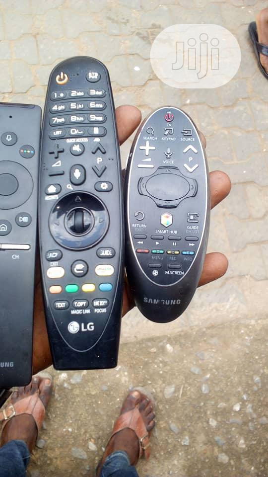 Samsung And LG Original Magic Remote For Your Smart Tvs | Accessories & Supplies for Electronics for sale in Ojo, Lagos State, Nigeria