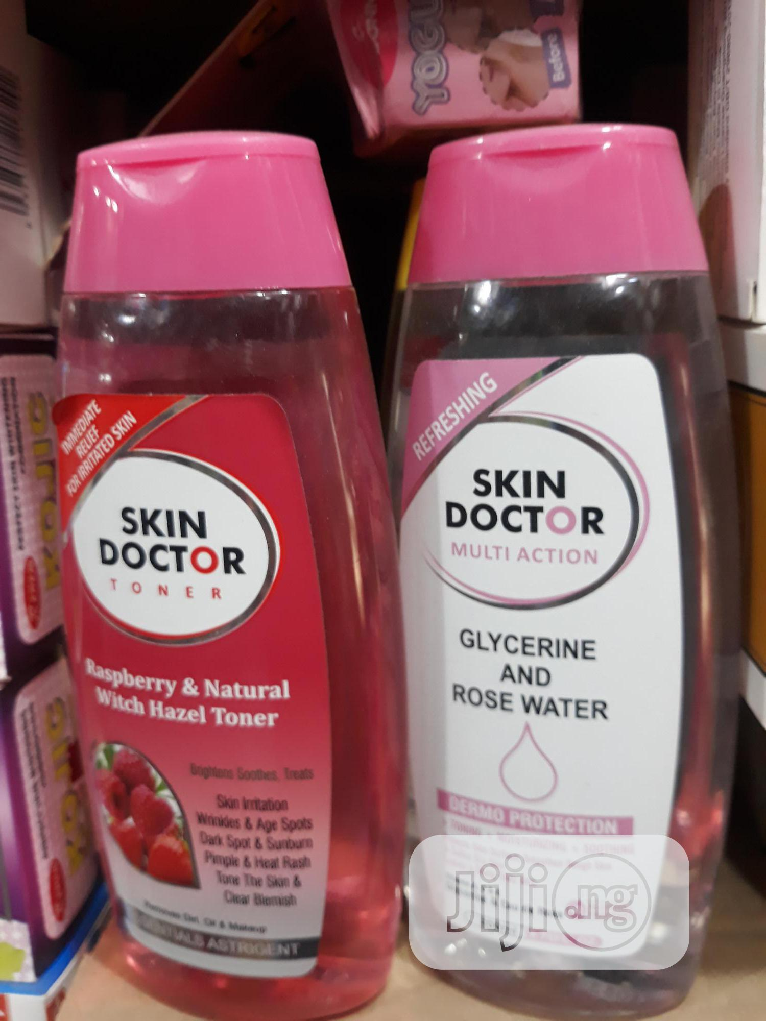 Skin Doctor And Glycerine Rose Water